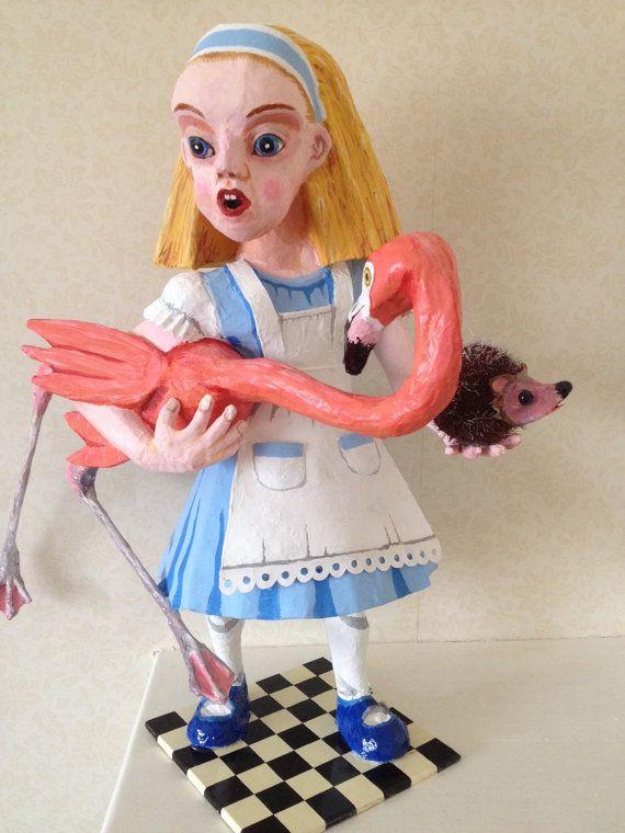 Alice in Wonderland bespoke one of a kind by RichardsBespokeArt