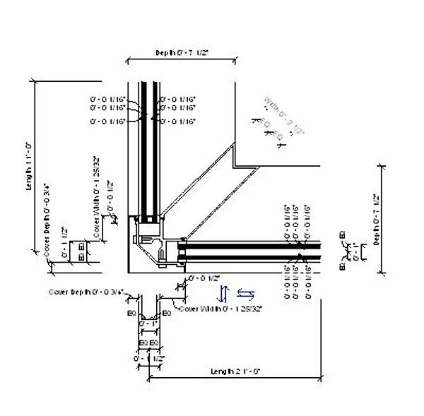 Curtain Wall Detail Corner Buscar Con Google 05 1