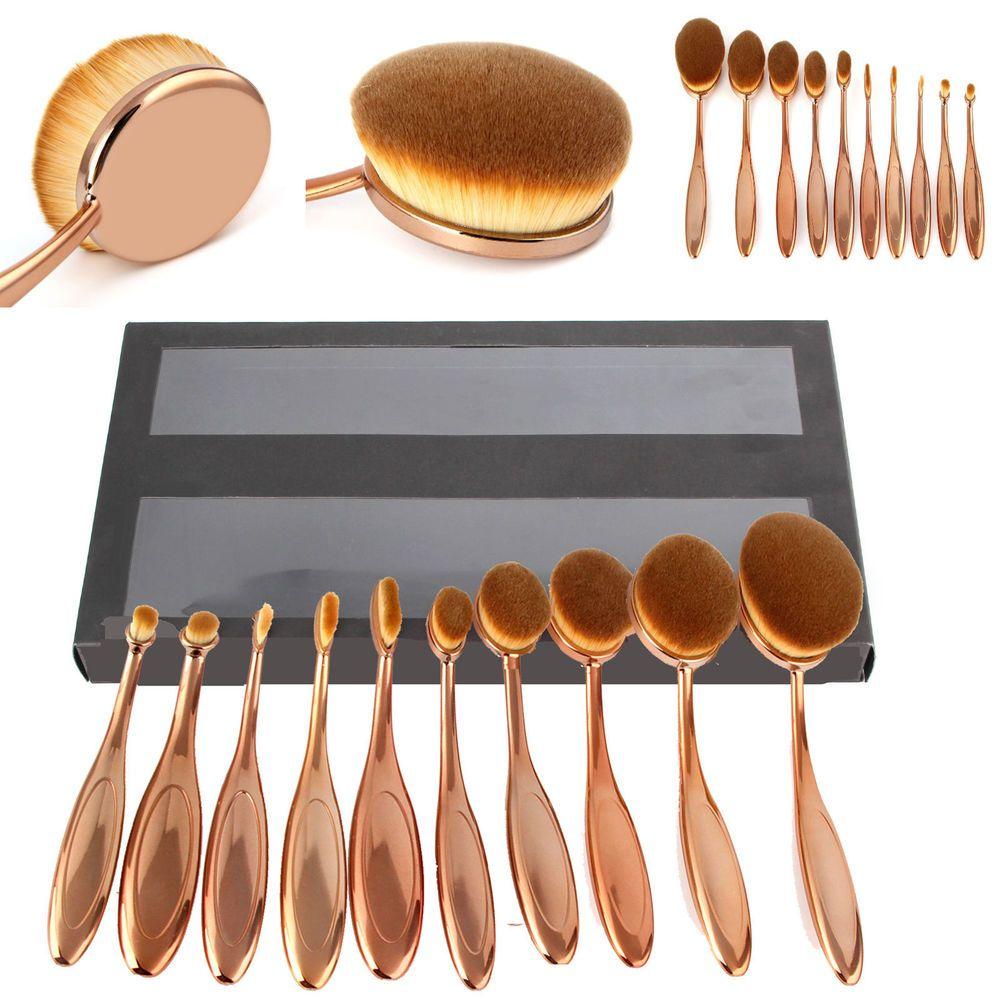 Details about VANDER Professional Makeup Brushes Set Oval