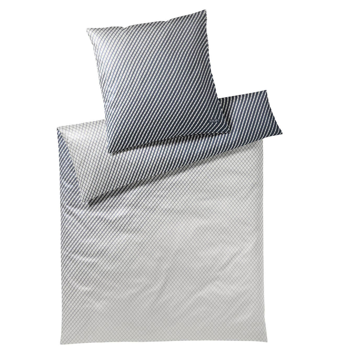 Kissenbezug Diamond 100 Baumwolle Rauten Muster Mako Satin