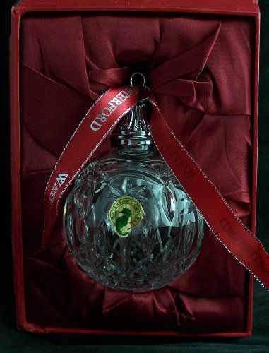 Waterford Lismore Crystal 2012 Ball Ornament Waterford http://www.amazon.com/dp/B00BNYPR9G/ref=cm_sw_r_pi_dp_-YkVtb04V97DYQBK