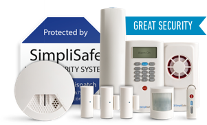 Simplisafe Classic Package Home Security Systems Wireless Home Security Wireless Home Security Systems