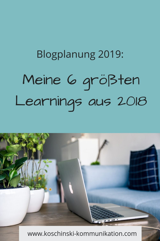 Eine Runde um den Blog: 2018