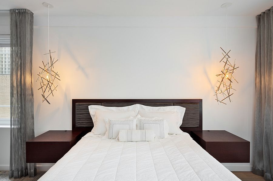Pendant lights add sculptural style to the trendy bedroom & Pendant lights add sculptural style to the trendy bedroom | Trendy ... azcodes.com