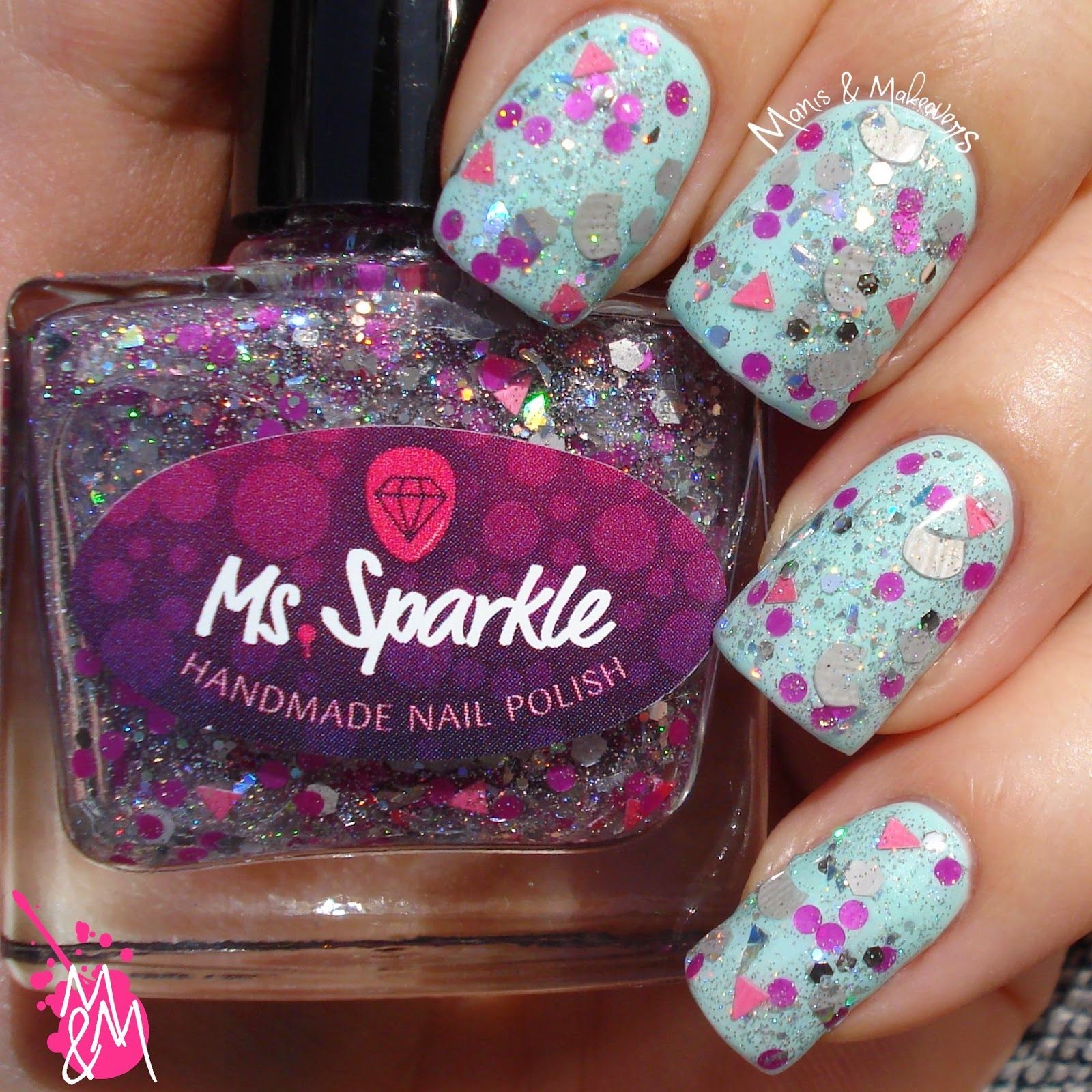 "Manis & Makeovers: Ms. Sparkle ""Nyan Cat"""