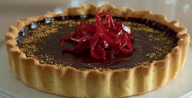 Ricette Dolci San Valentino Crostata Al Cioccolato E Peperoncino