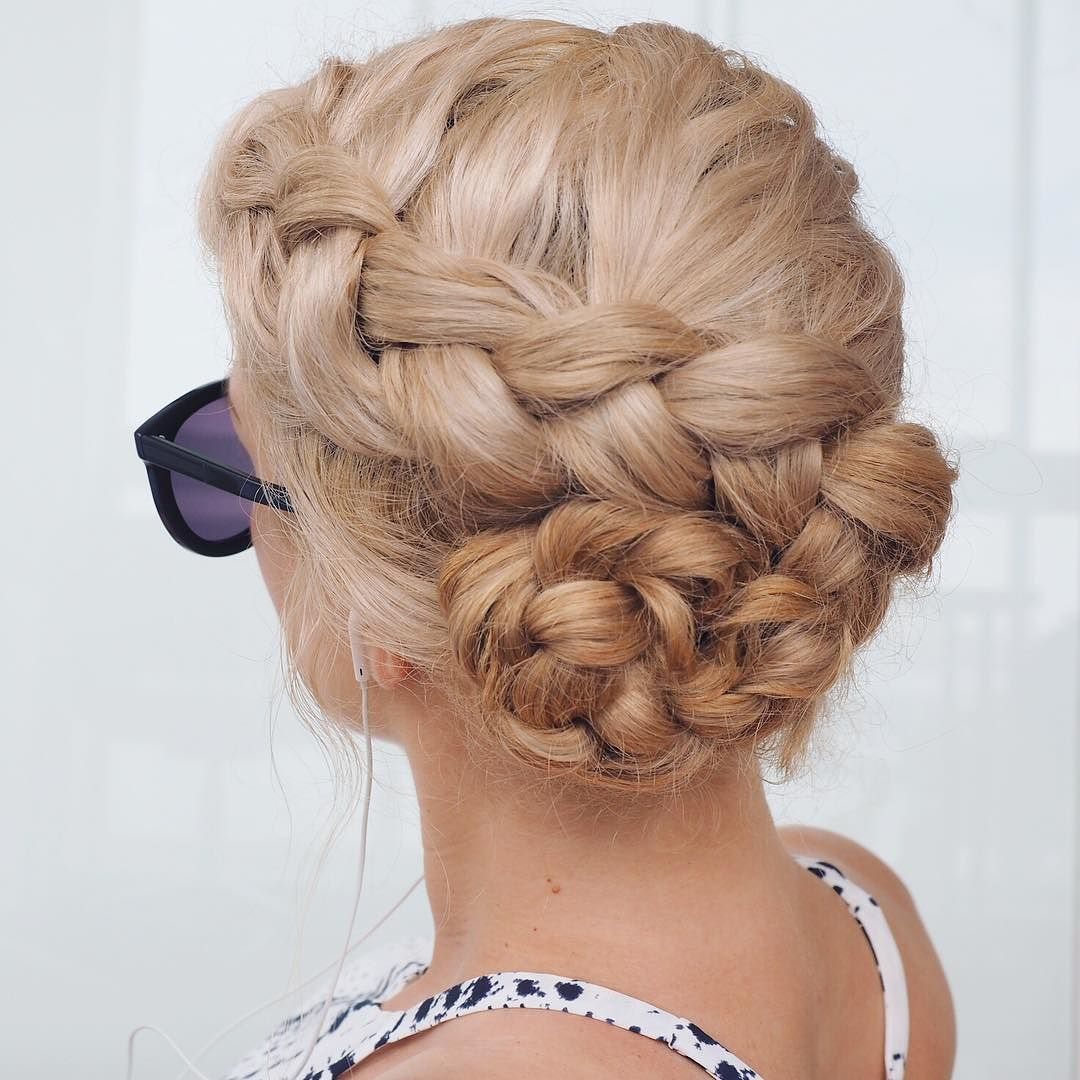 Todayus braid  a twisting Dutch braid I love braids for covering