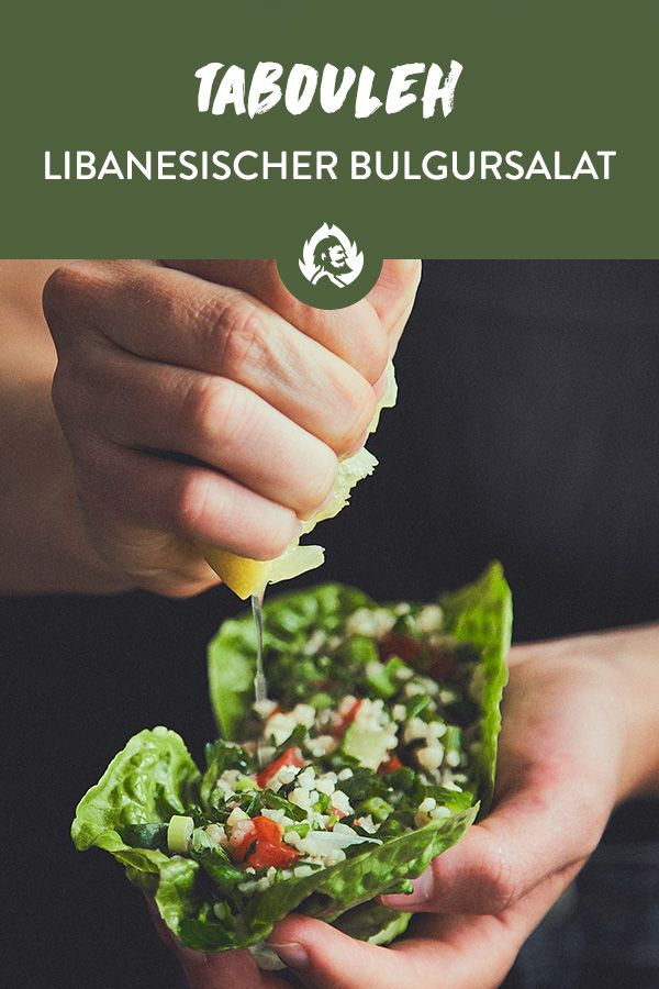 Photo of Tabbouleh: Recipe for Lebanese bulgur salad with parsley and mint