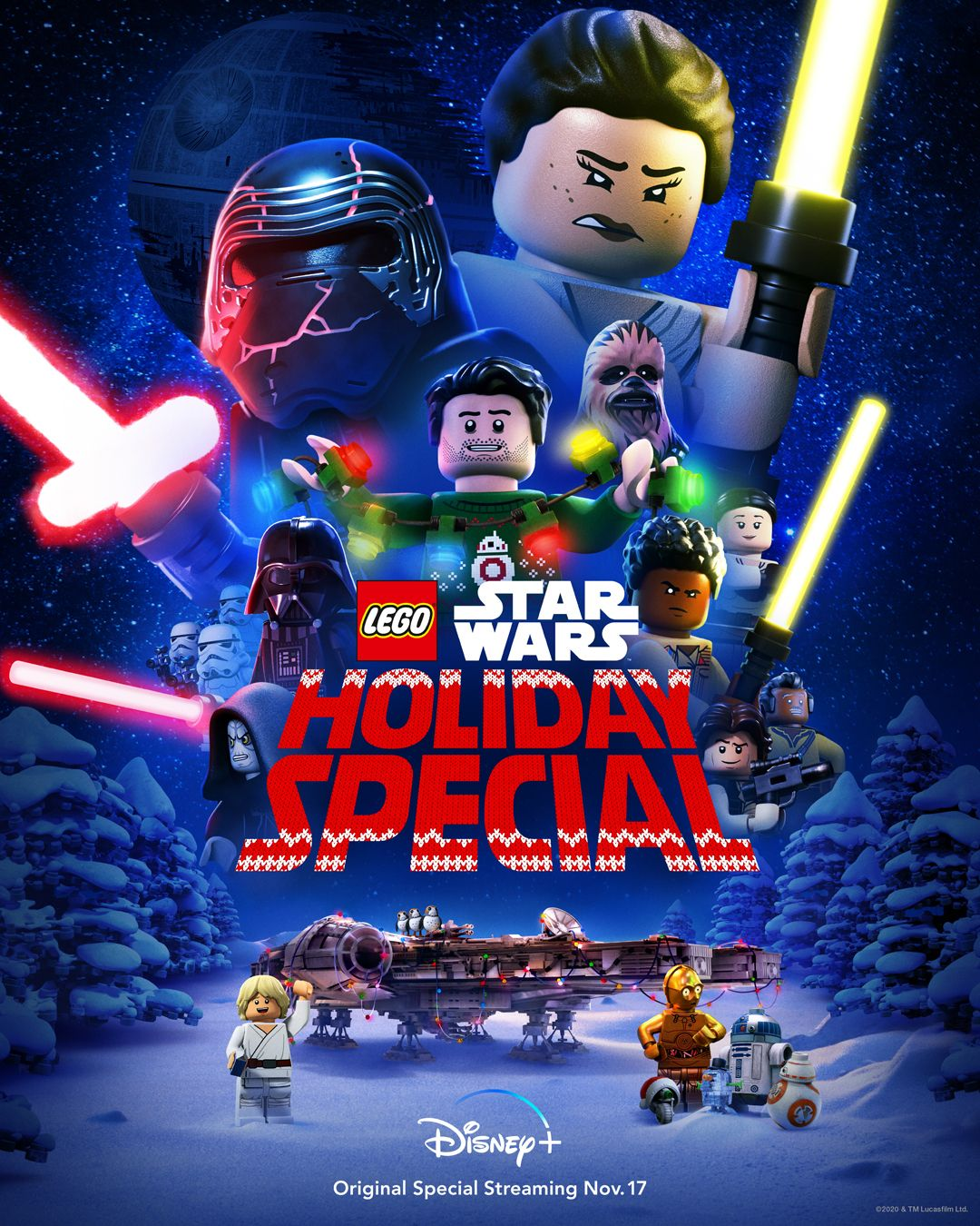 Lego Star Wars Holiday Special Coming To Disney Nov 17th Star Wars Holiday Special Lego Star Wars Star Wars Christmas