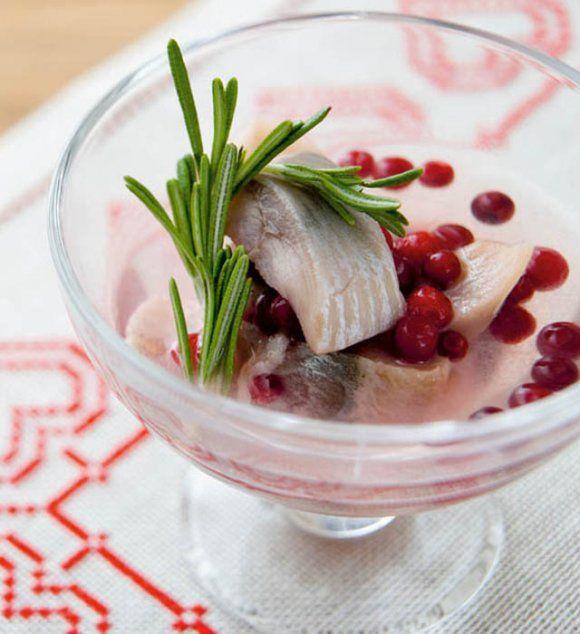 Lingonsill/Lingonberries pickled herring