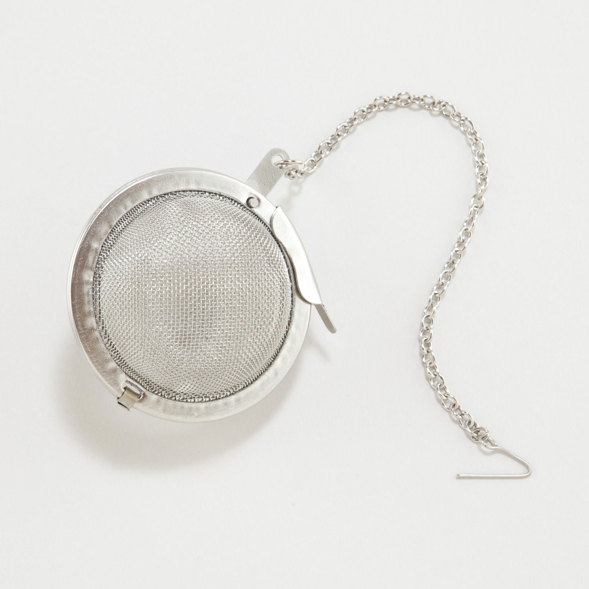 "RSVP Endurance Mesh Tea Infuser 2 1//2/"" Stainless Steel Mesh Tea Ball w// Chain"