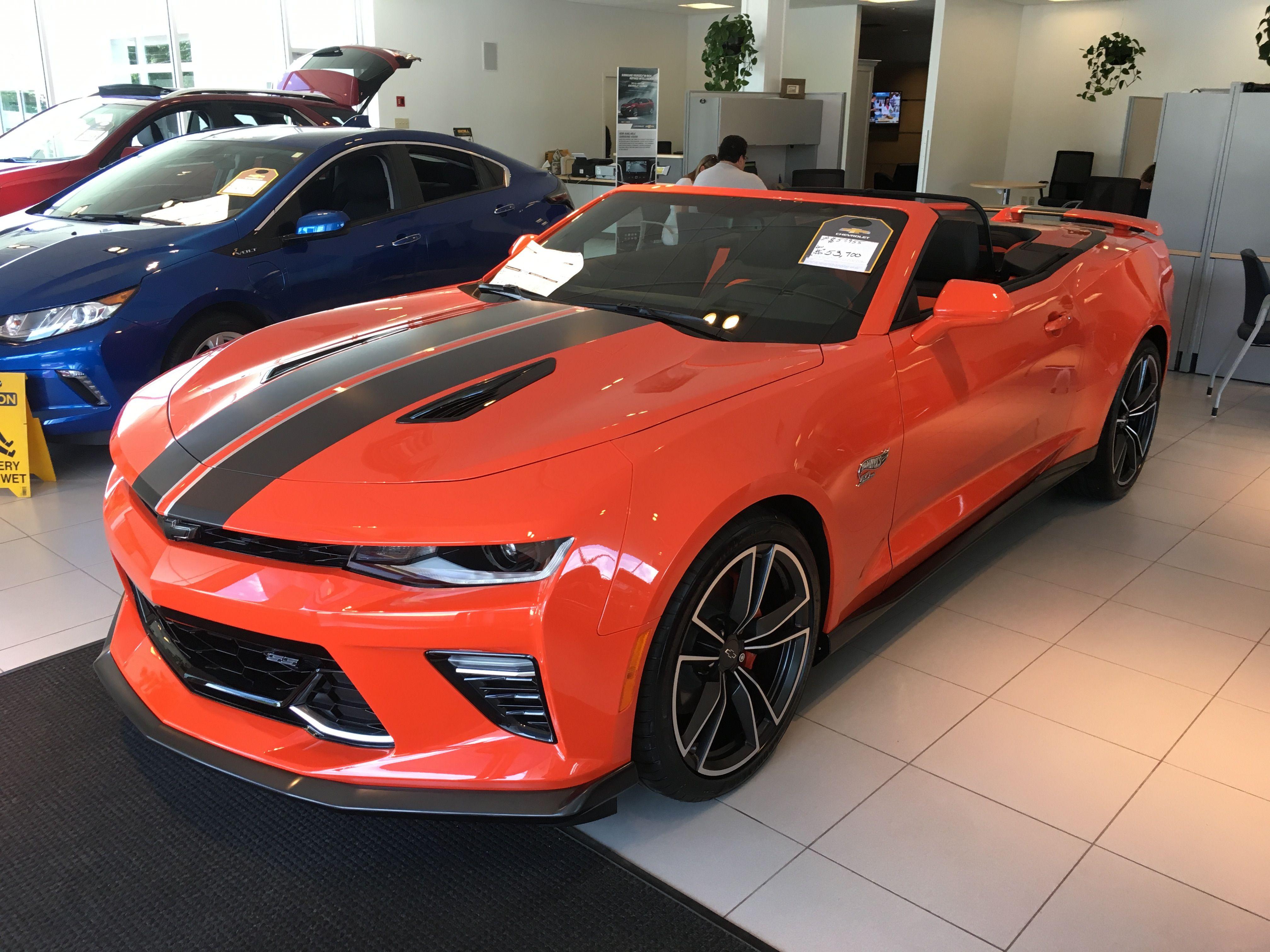 2018 Chevrolet Camaro Convertible Hot Wheels Edition