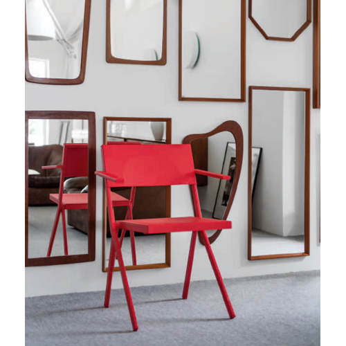 Chaise Emu Mia Rouge Mobilier Design Decoration Interieure Mobilier