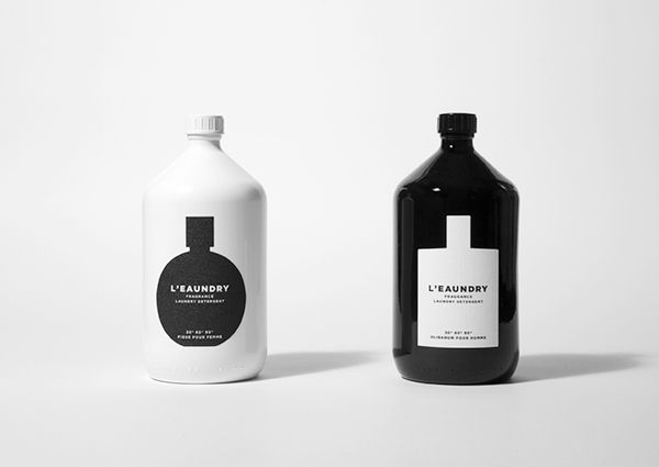 L Eaundry Fragrance Laundry Detergent On Packaging Design Served