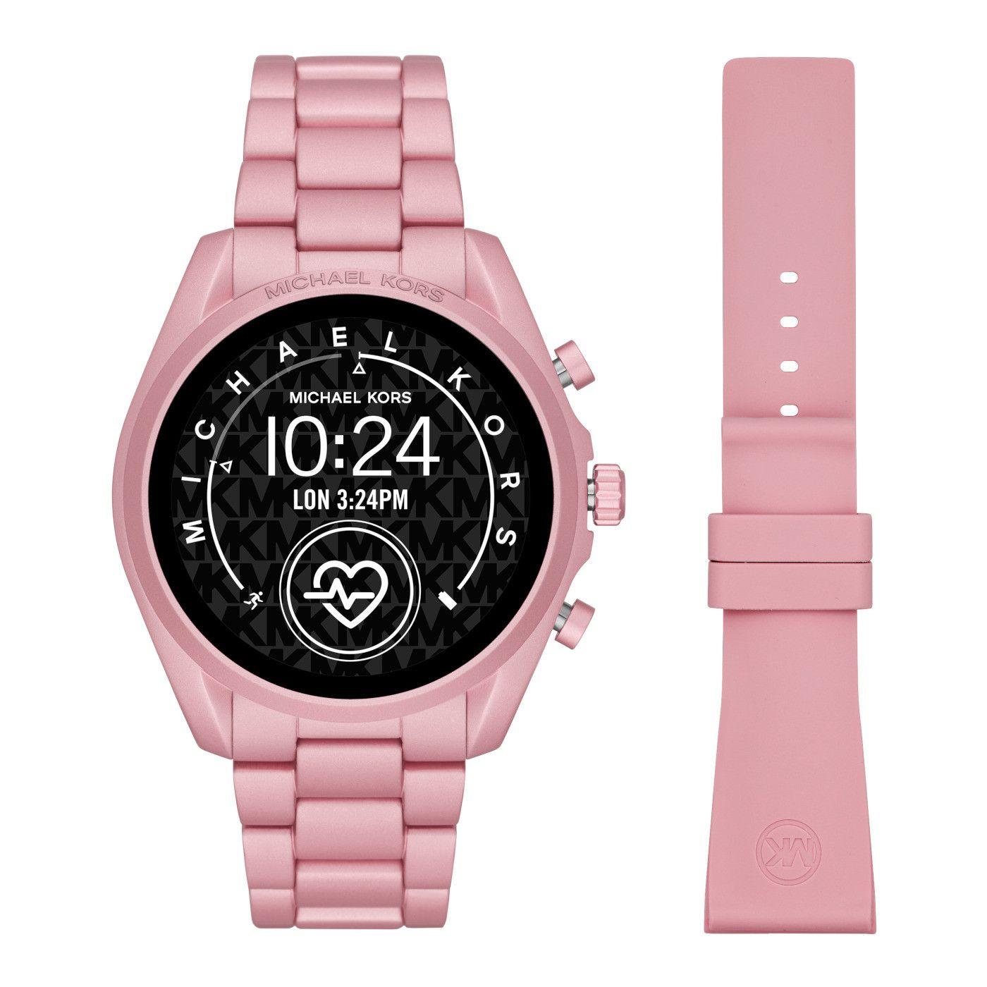 Michael Kors Access Bradshaw Gen 5 Display Smartwatch Mkt5098 In 2020 Michael Kors Bradshaw Michael Kors Smart Watch