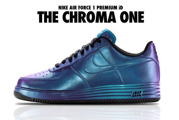 pretty nice fcb20 882e1 NIKEiD Air Force 1 Chroma Options
