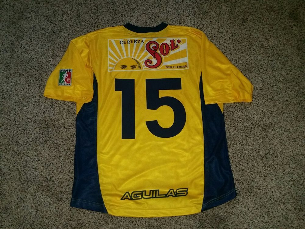 new styles f34ed 01937 Club America Jersey 2001 Luis Hernandez Jersey Aguilas del ...