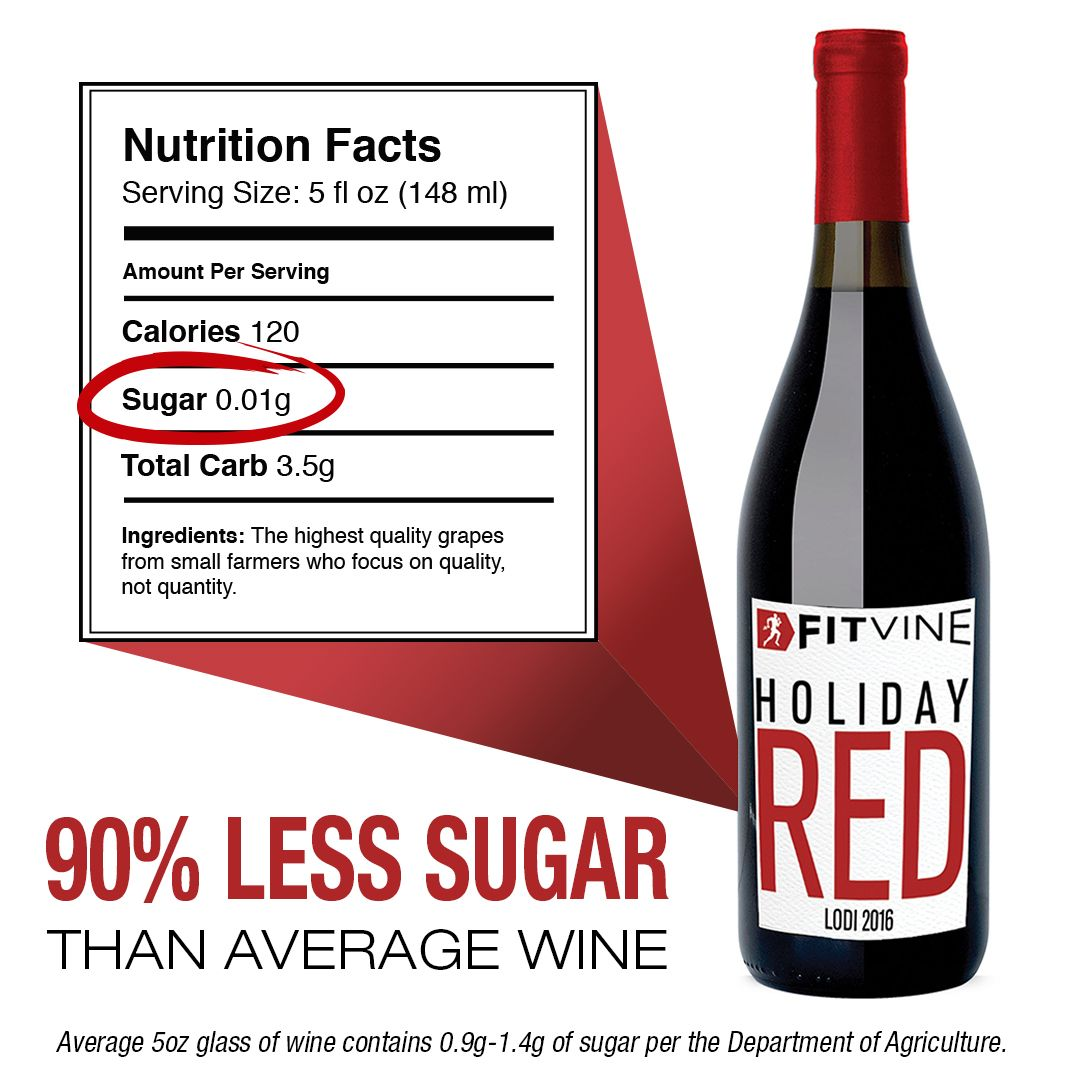 Our Limited Edition Holiday Red Blend Is Back By Popular Demand Enjoy This Iconic Bold Red Blend With Less Sugar Few Holiday Red Holiday Wine Nutrition Facts