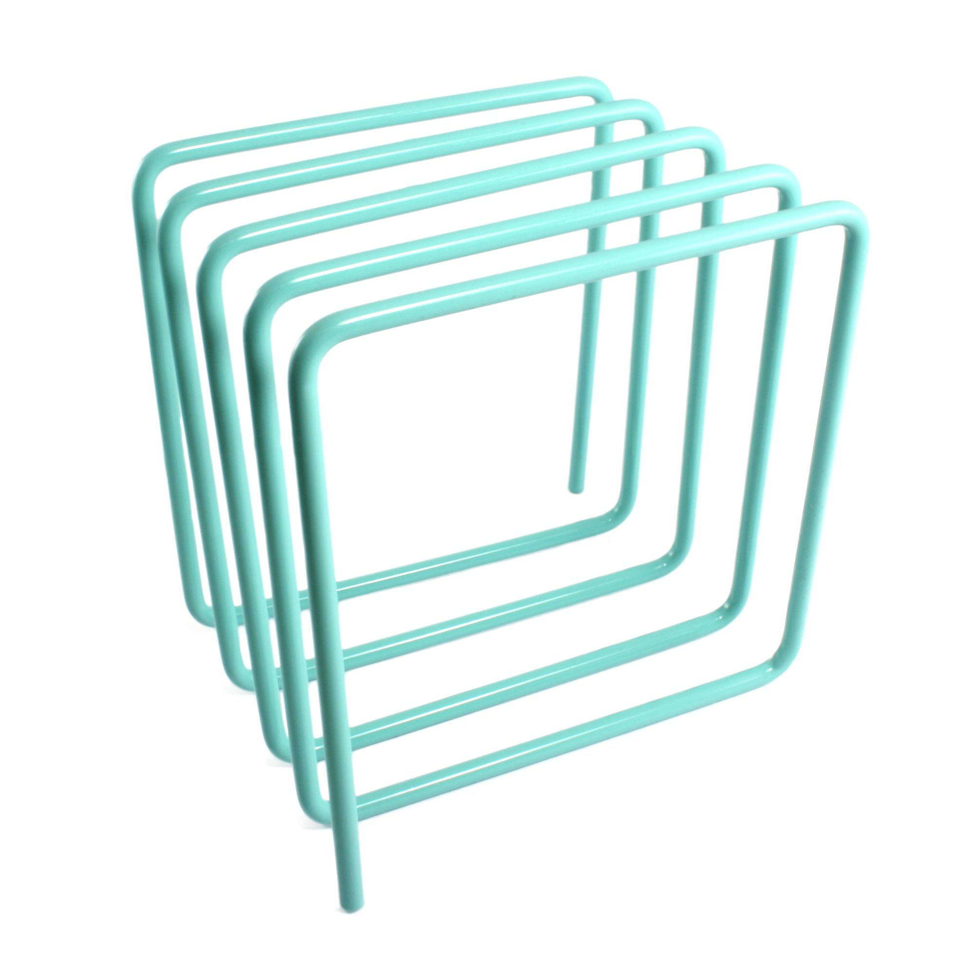 Wire Magazine Rack Desk Organiser Vinyl Record Holder With Images Living Room Accessories Decor Magazine Rack Magazine Holders
