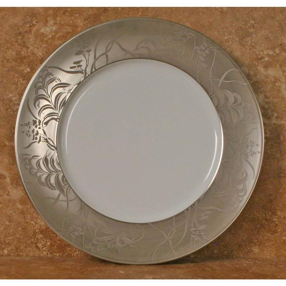 J.L. Coquet Khazard Platinum Dinner Plate