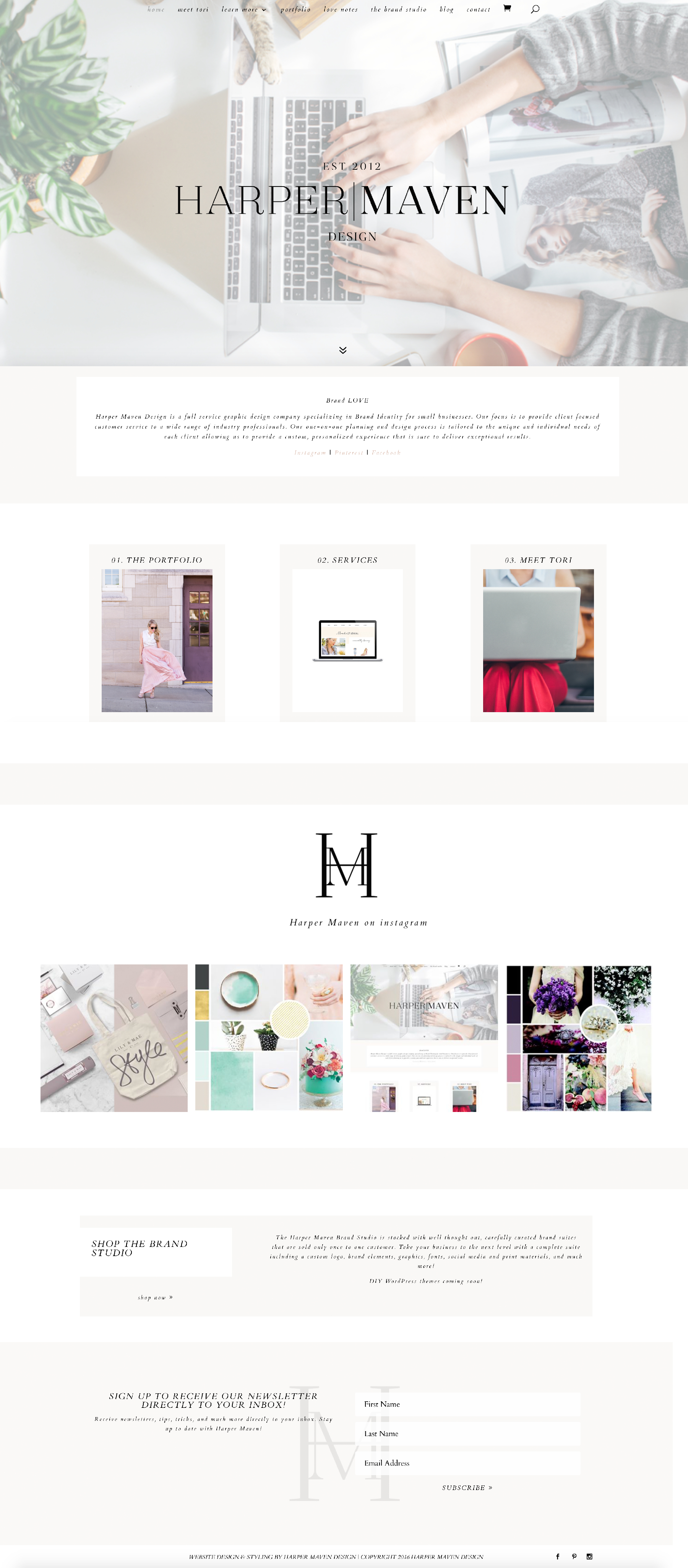 Harper Maven Design Website | - #apple | Apple Store | Pinterest