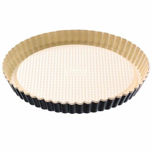 Molde Kaiser redondo para quiche de cerámica 28 cm