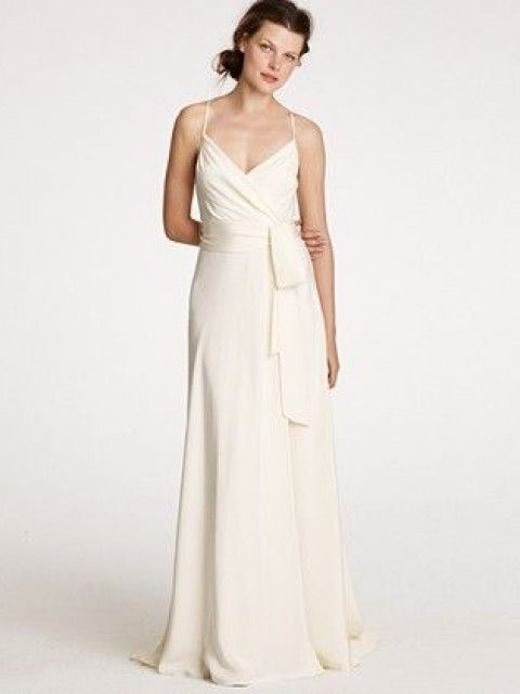 J Crew Goddess Gown Size 5 Wedding Dress