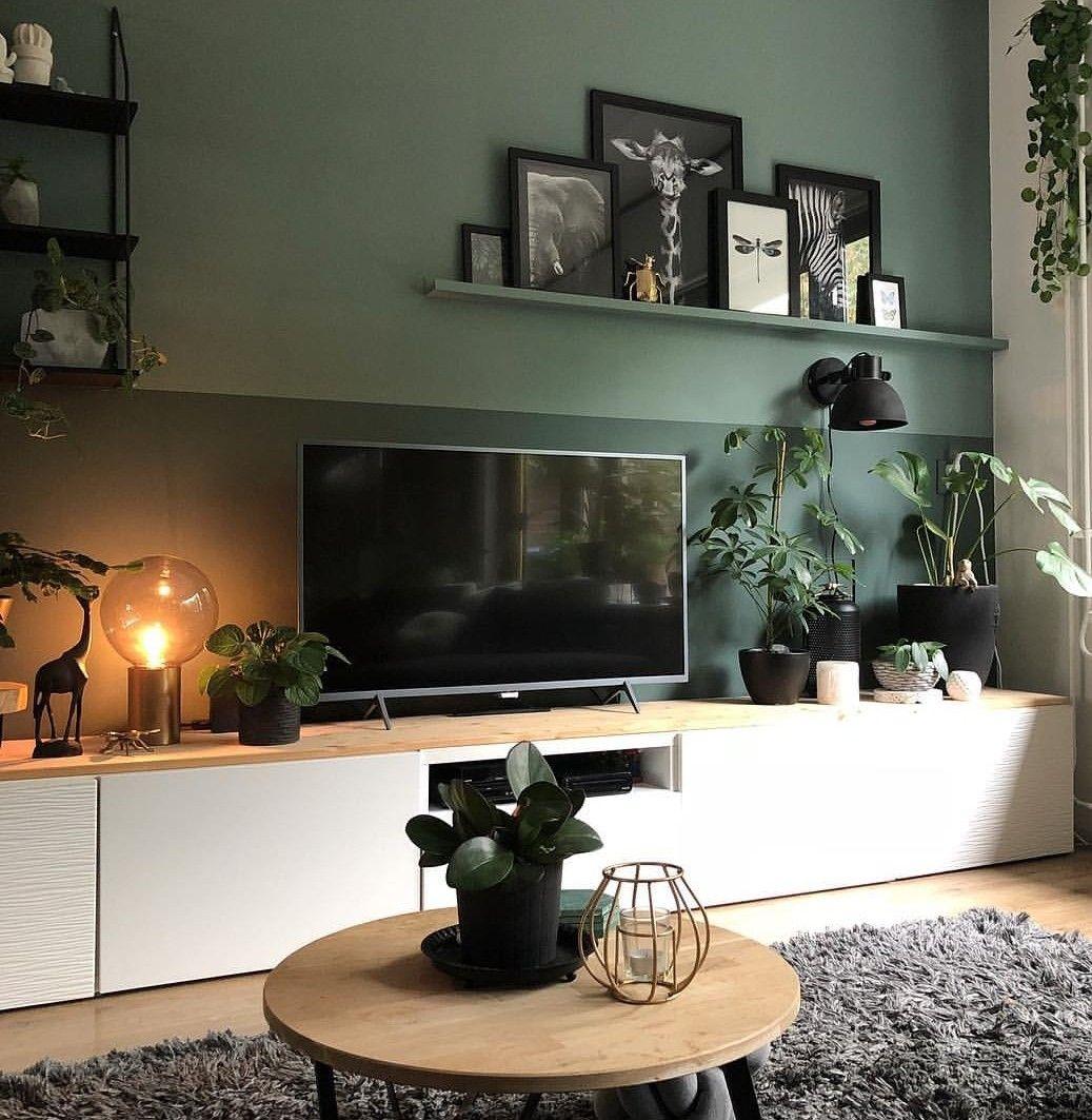 Ideeen Tv Meubel.Tv Kast Idee Woonkamer Decor Woonkamer Decoratie Huis Interieur