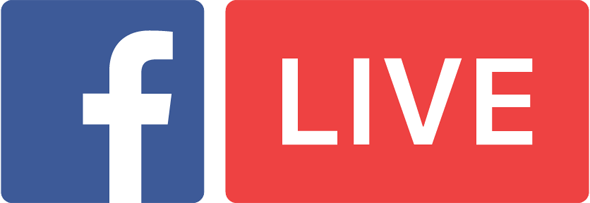 Broadcast Live Events On Facebook Using Your Smartphone Or Tablet With Facebook Live Facebook Live Youtube Live Vector Logo