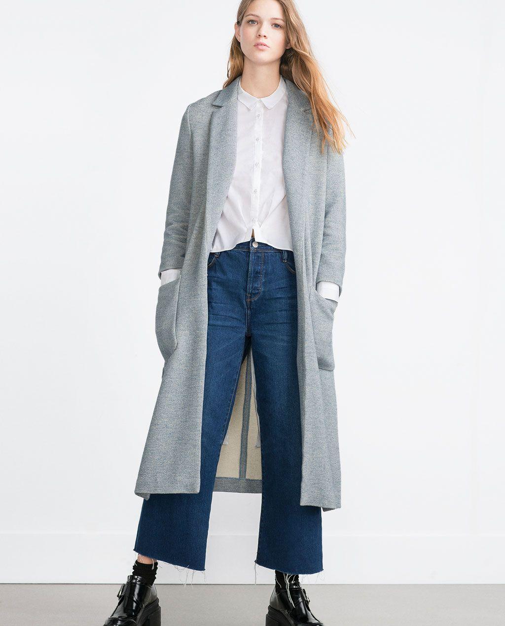 Zara Todo Rebajas Mujer Abrigos Ver Abrigo España Largo gqapvv
