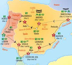 Map Of Spain Google Maps.Maps Portugal And Spain Google Search Spain Portugal Travel