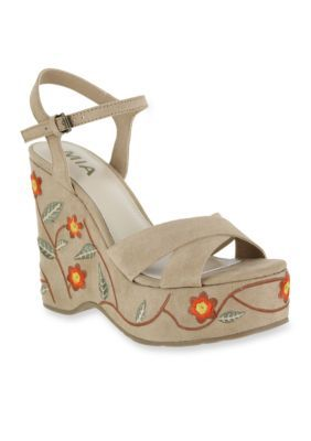 fcb2a6c3b7b MIA Willa Wedge Sandals OKjIPy0 - hdcustomcomponents.com