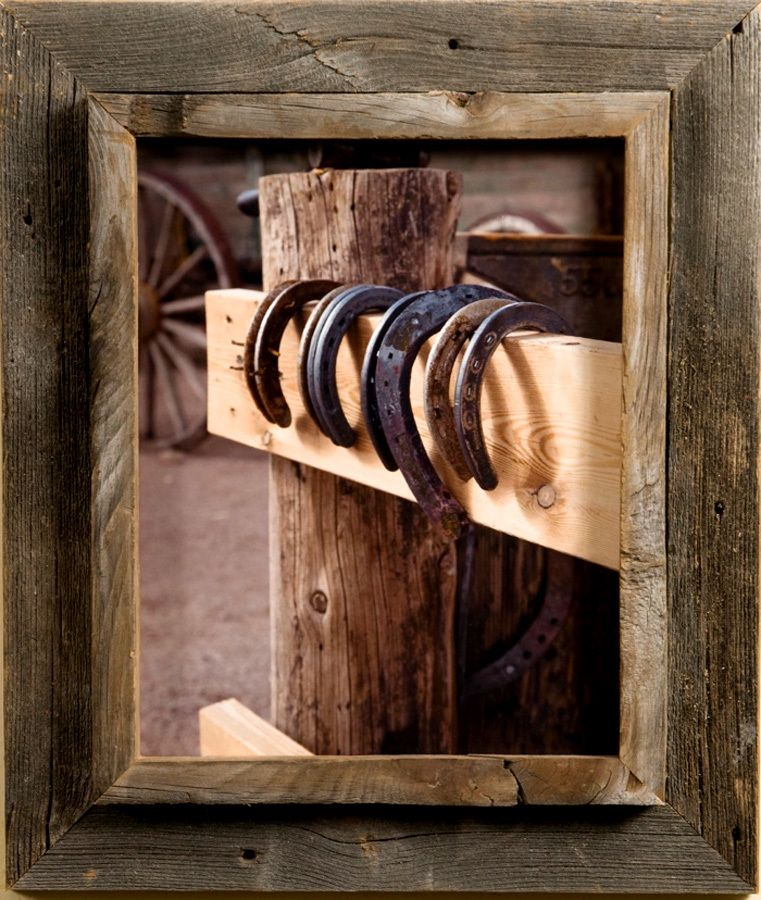 10x10 Western Picture Frames - Western Rustic Narrow Width 2.25 inch ...