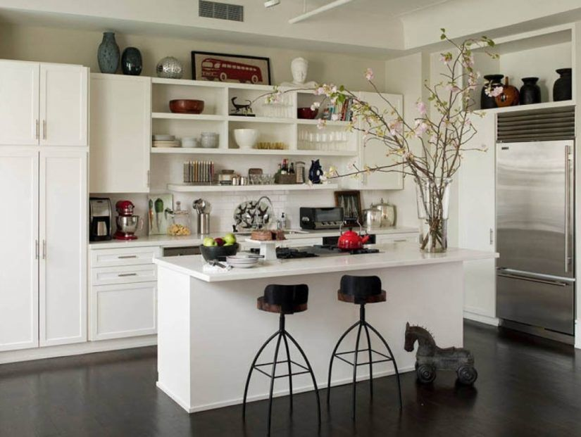 Open Face Kitchen Cabinets Cabinet Ideas Impressive