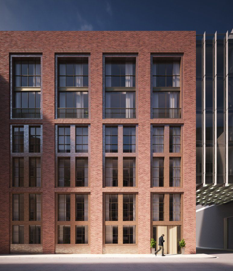 Cheap Apartments Outside Bricks: Barts Square (Residential), EC1