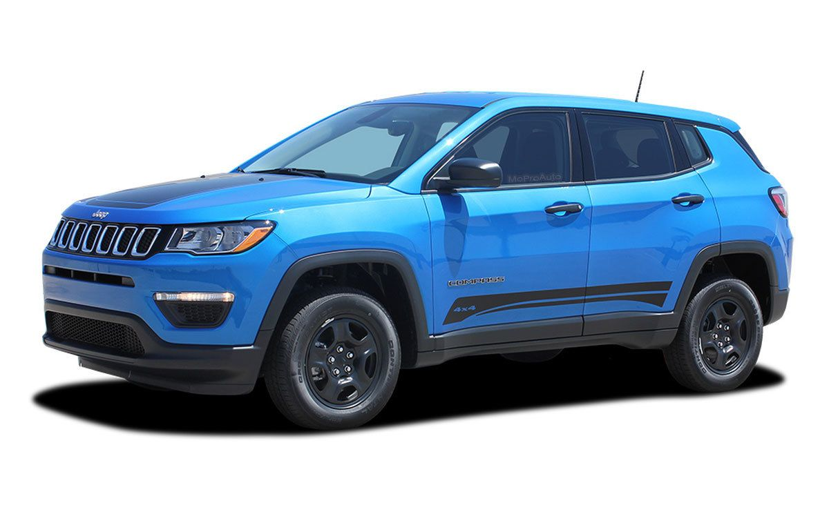 COURSE 20172020 Jeep Compass Vinyl Graphics Decal