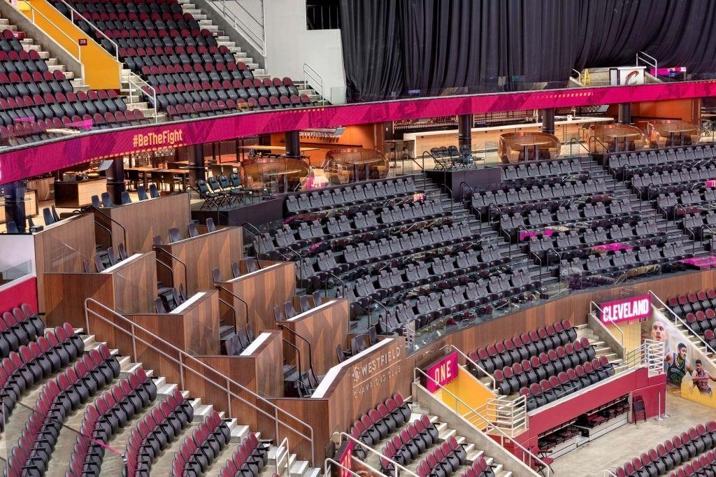 Quicken Loans Arena Seating Chart Quicken Loans Arena Quicken Loans Seating Charts