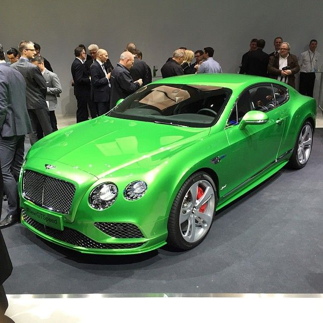 Face Lifted Bentley Continental GT Speed