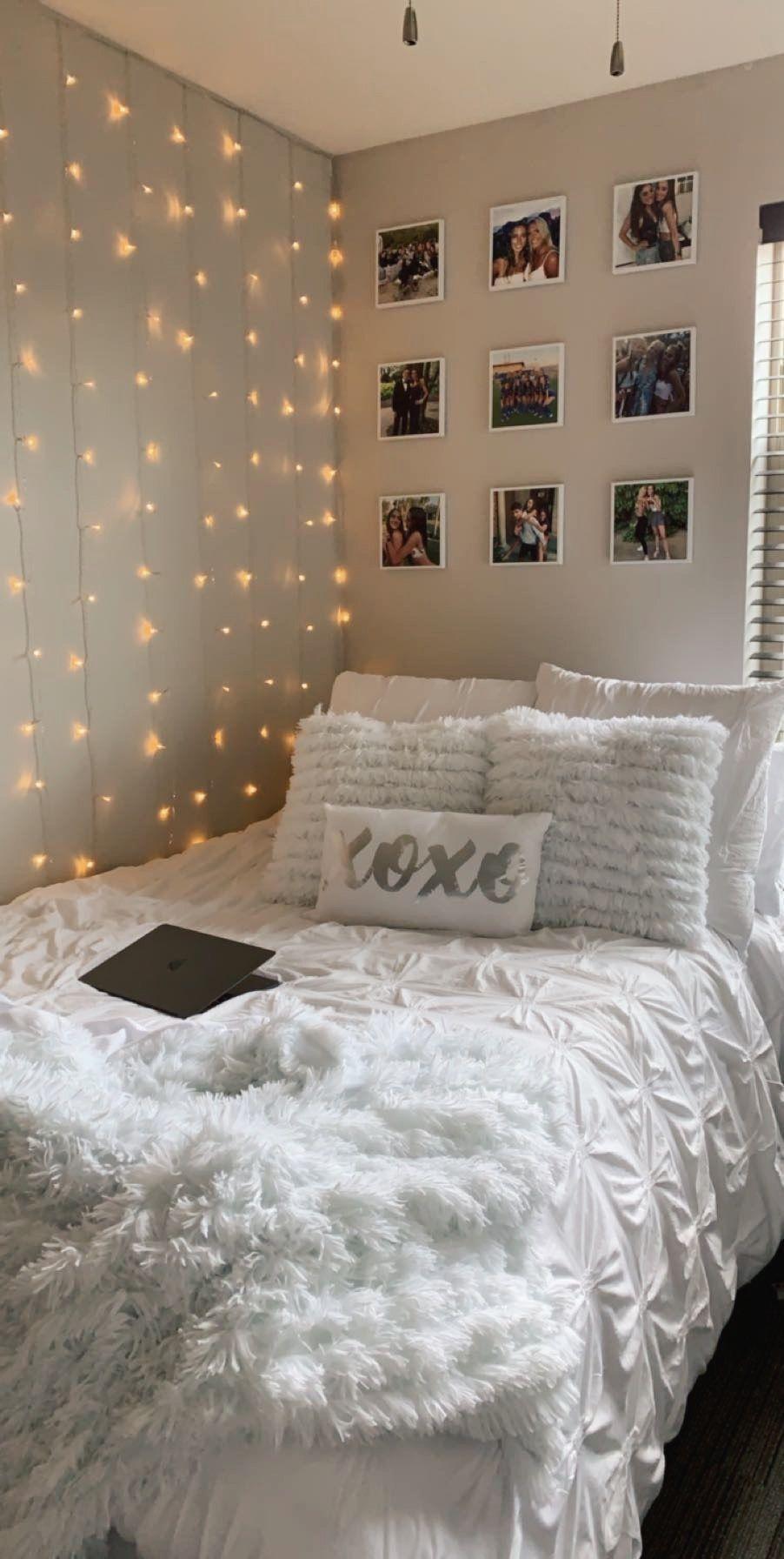 College Dorm Decorations In 2020 Room Inspiration Bedroom Cozy Room Decor Room Ideas Bedroom
