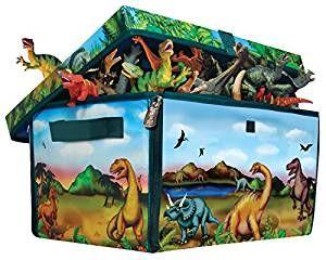 Luxury Dinosaurier Spielzeugkiste mit Dino Figuren