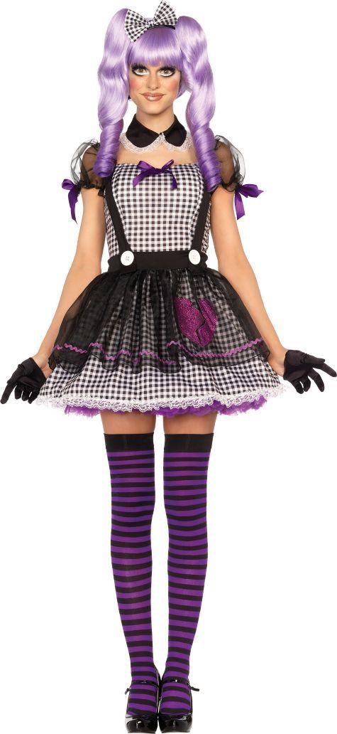 halloween ideas adult dead eye dollie doll costume party city