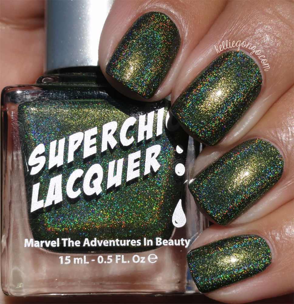 Nail Polish Collection Kelliegonzo Superchic Lacquer Urban Dictionary Swatches Review