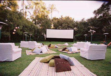Backyard Movie Night Ideas mn4 For A Backyard Movie Night
