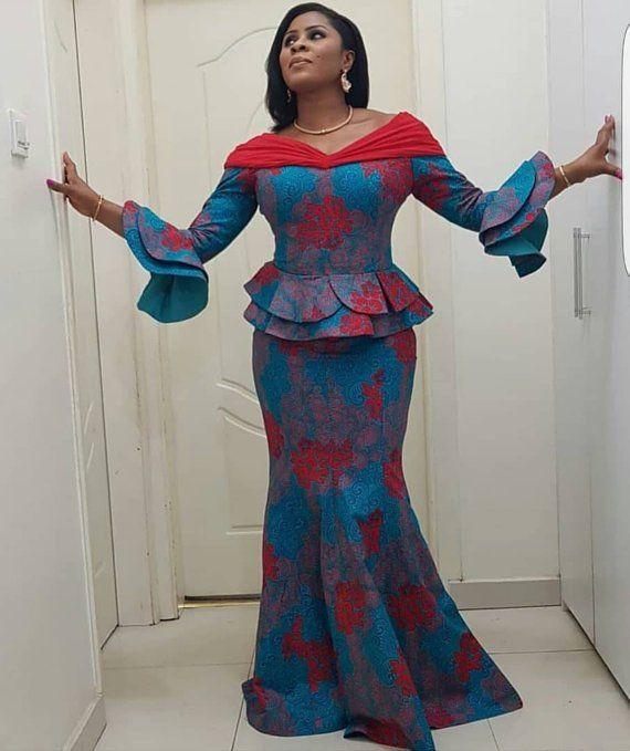 African print skirt set,african women matching set