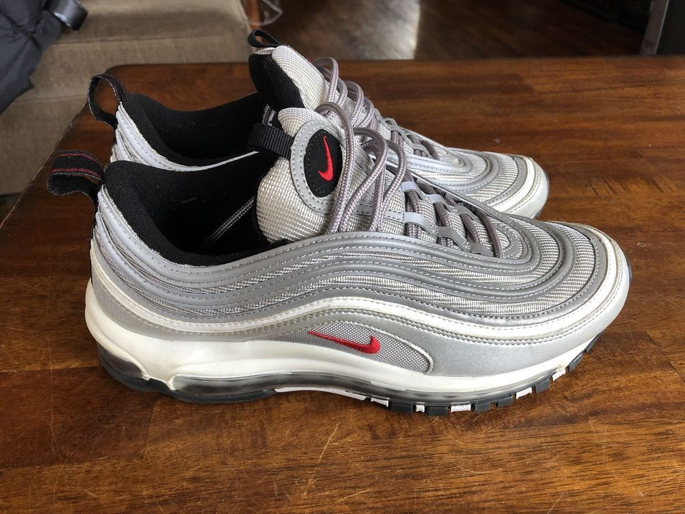 64b3943f0d nike air max 97 silver bullet Size 9 Mens #fashion #clothing #shoes # accessories #mensshoes #athleticshoes (ebay link)