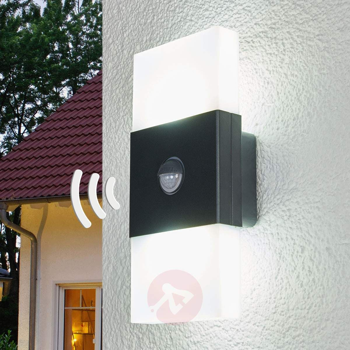 Modern outdoor wall lamp Noxlight LED Wall Doub gr-7261090-31 | home ...