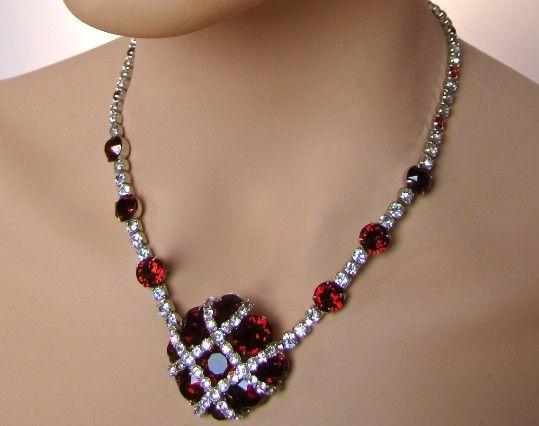 Fab Vintage 1940s Christian Dior Designer KRAMER NY Necklace