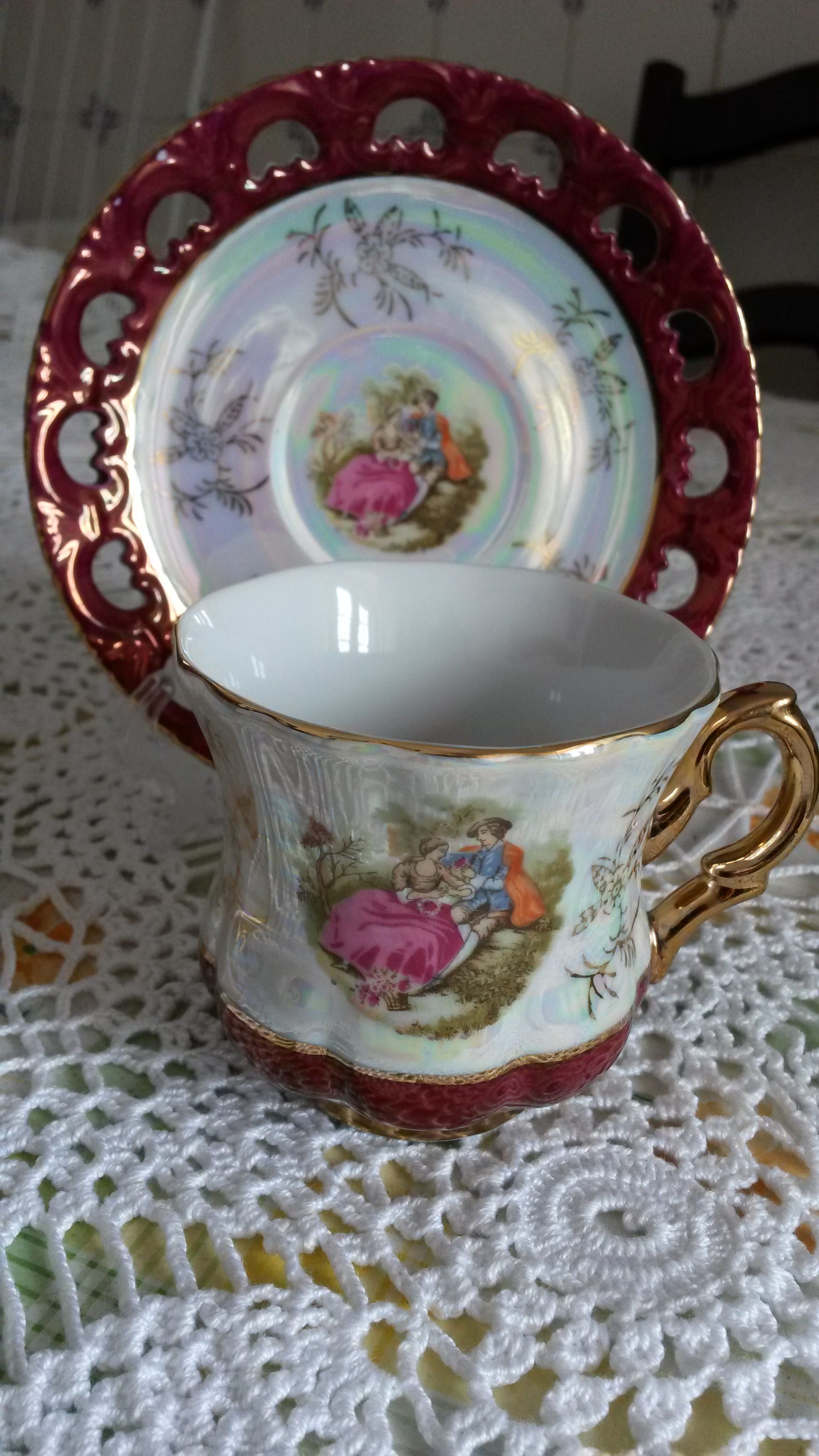 From my colection of Tea Cups
