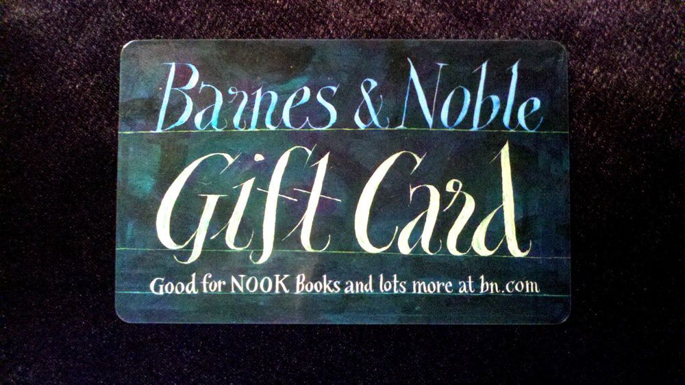 10 Barnes Noble Gift Card Bn In Store Or Online Free Shipping