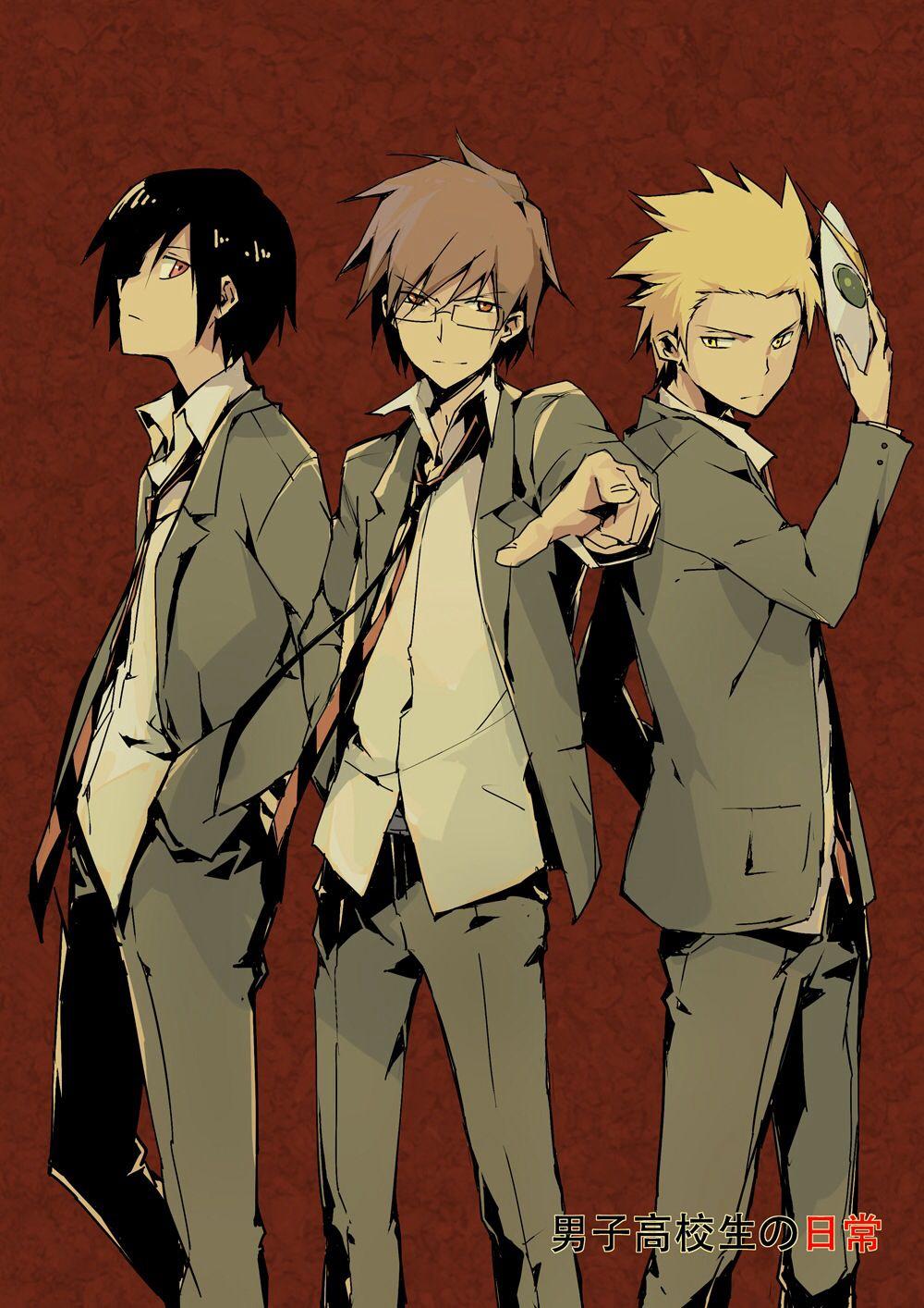 20 ideias de Danshi koukousei no nichijou   anime, animes manga ...